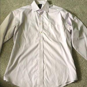 Light purple Jos. A. Bank men's dress shirt